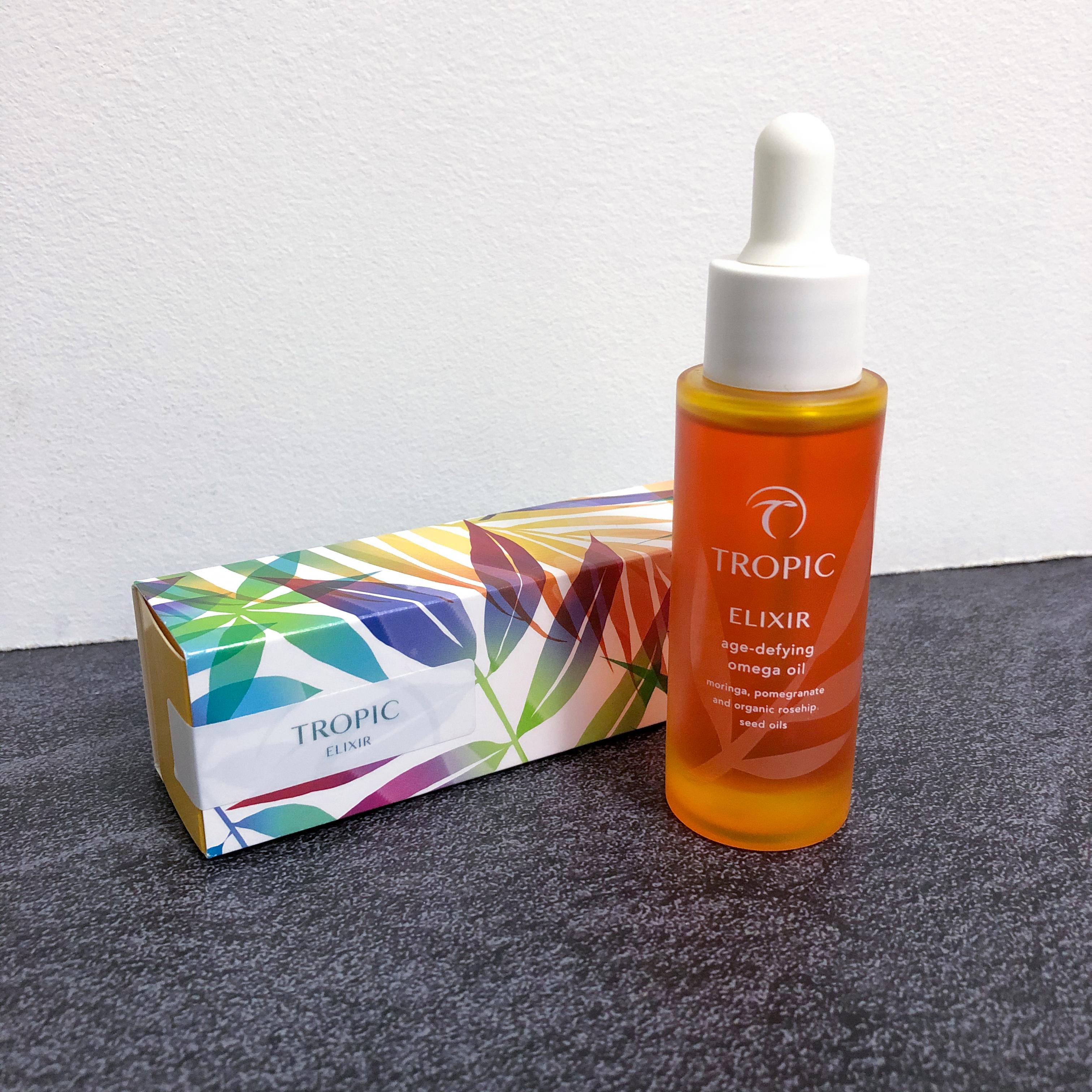 tropic skincare elixir oil