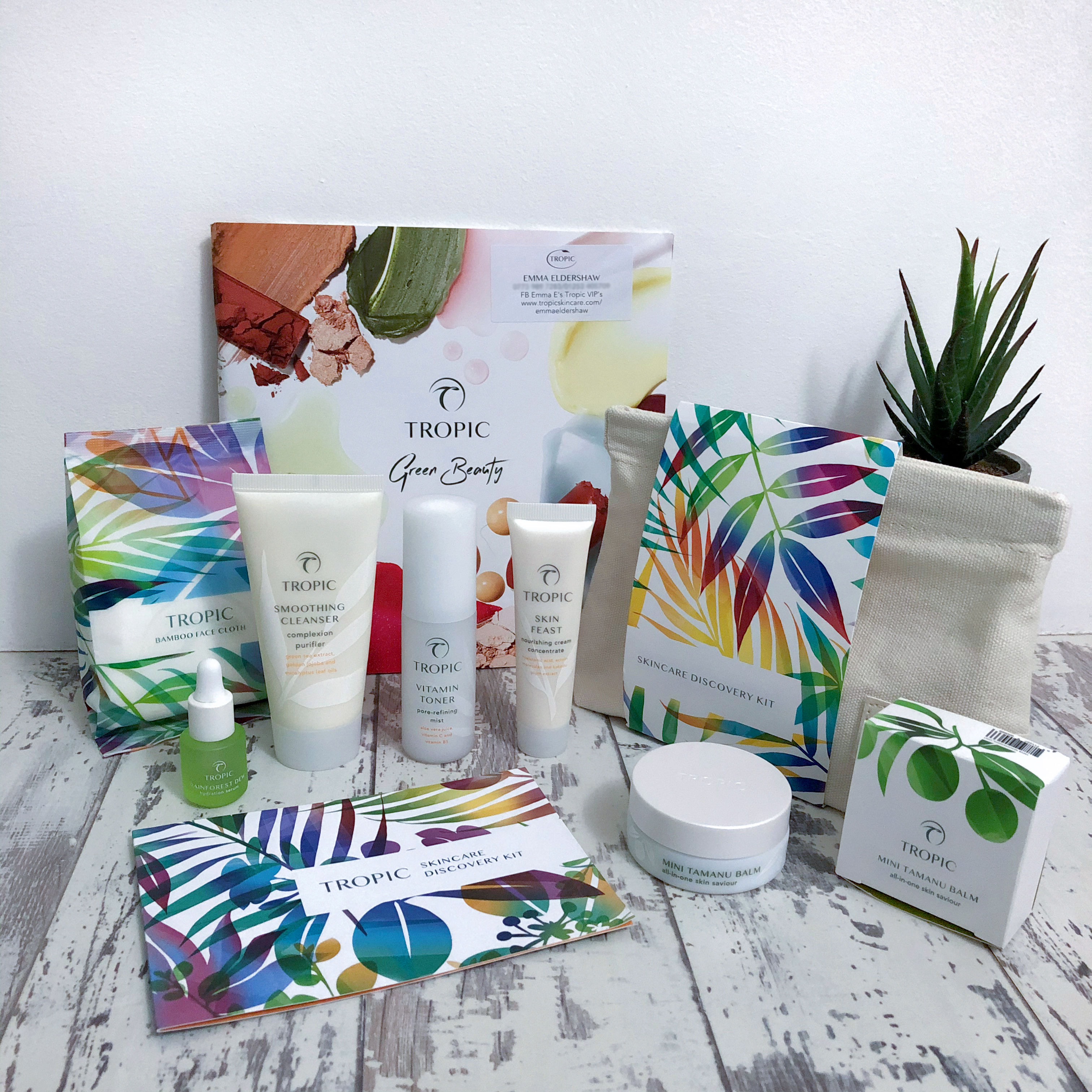 tropic skincare travel size